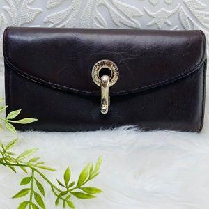 Kate Spade billfold credit card wallet clasp zip